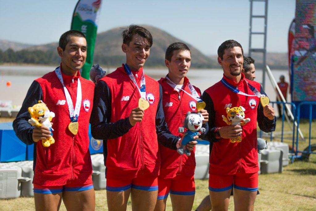 Team Chile consigue medallas de oro en los Juegos Sudamericanos de Cochabamba 2018 y se ilusiona con escalar en el medallero / Foto de Facebook XI Juegos Suramericanos Cochabamba 2018