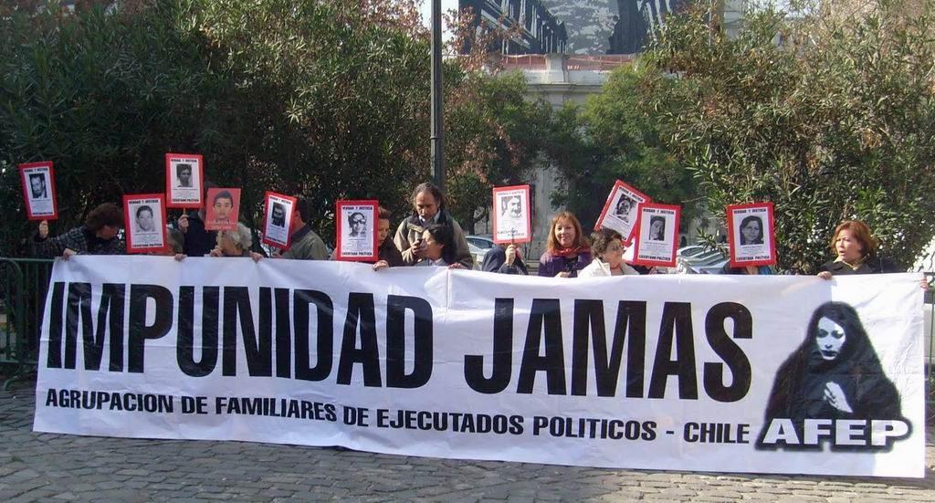 Foto archivo: Agrupación de Familiares de Ejecutados Políticos
