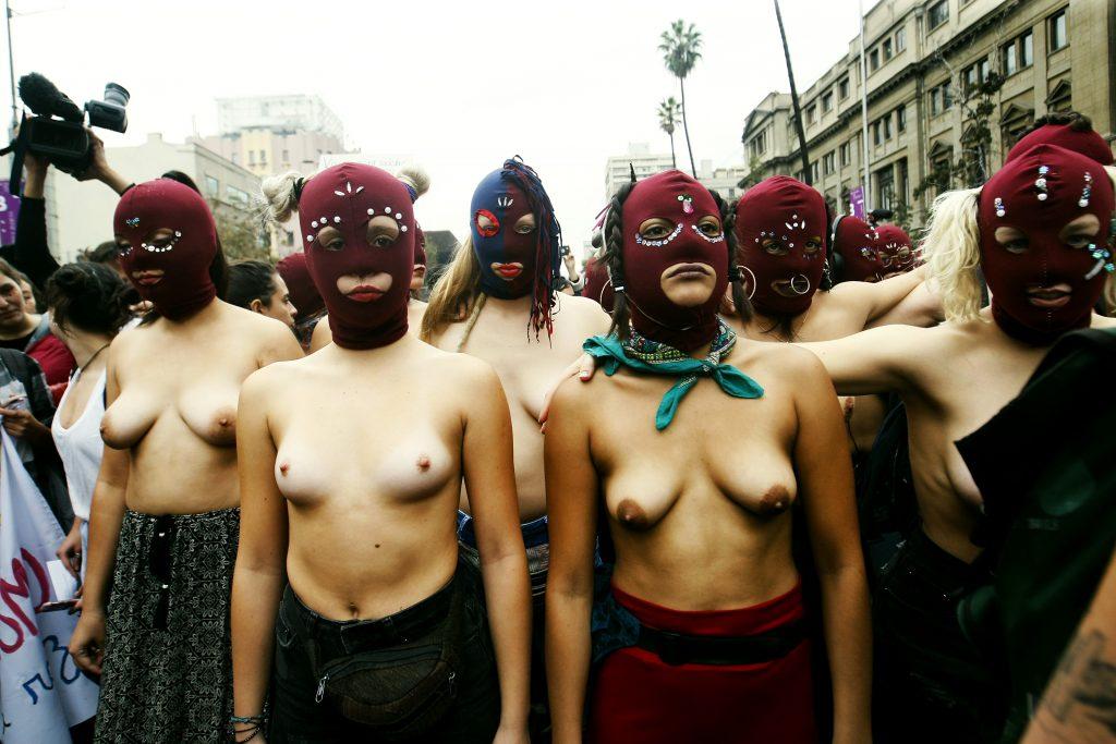 """Marcha """"Contra la violencia machista, educación no sexista"""" / Foto por Rodrigo Galvez"""