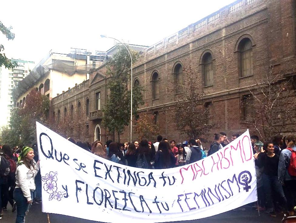 Marcha miércoles 16 de mayo por una educación no sexista
