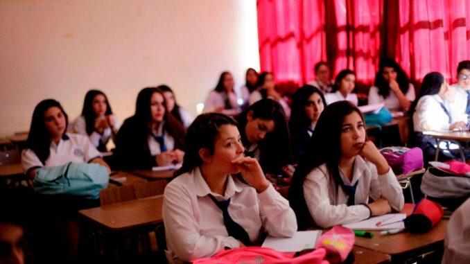 """Colegio de Profesores: """"vamos a seguir movilizados hasta cuando el Gobierno llame a una solución"""""""