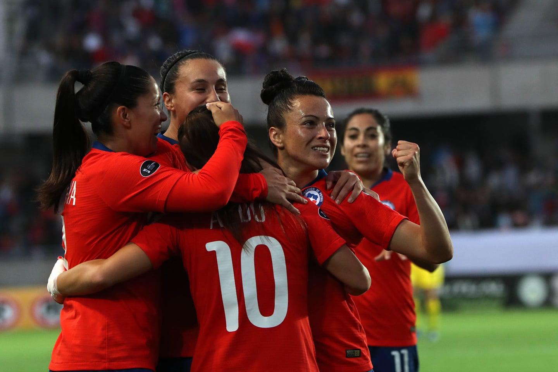 Selección chilena femenina de fútbol recibe a Costa Rica en Rancagua / Foto de Copa América Femenina Chile 2018
