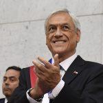 Sebastián Piñera compara a mujeres con medallas a la hora de referirse a Tomás González en recepción del Team Chile, tras los Juegos Suramericanos de Cochabamba, en La Moneda / foto de Wikipedia