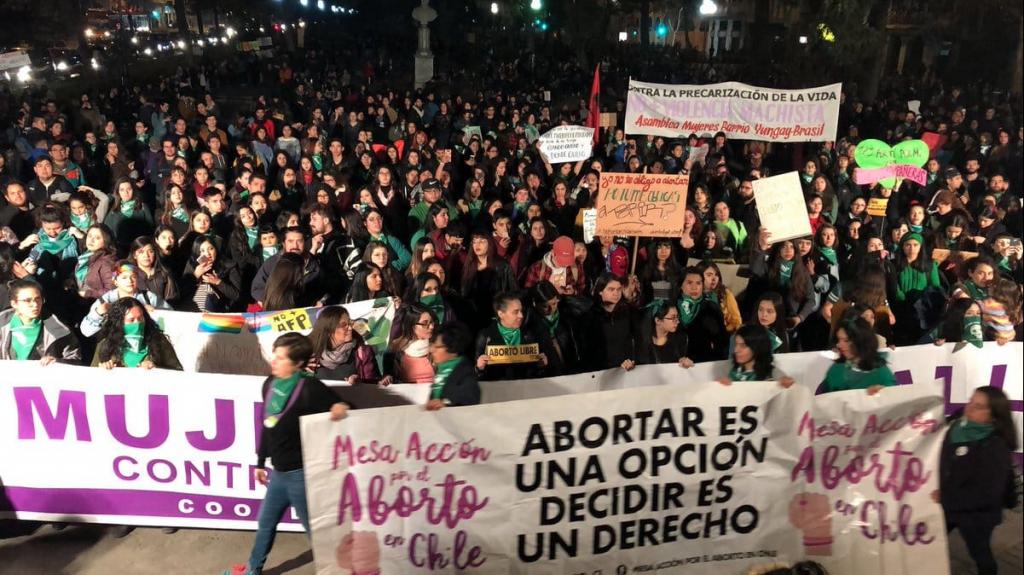 marcha por el aborto libre