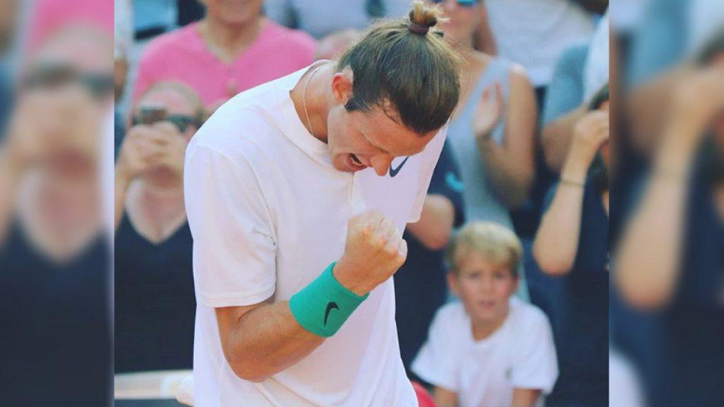 La consagración de Nicolás Jarry tras su buen papel en el ATP 500 de Hamburgo, participación completa de la primera raqueta chilena / Foto de Instagram @nicojarry