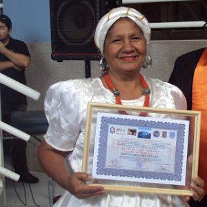 Marta Salgado H., fundadora de la Organización No Gubernamental Oro Negro.