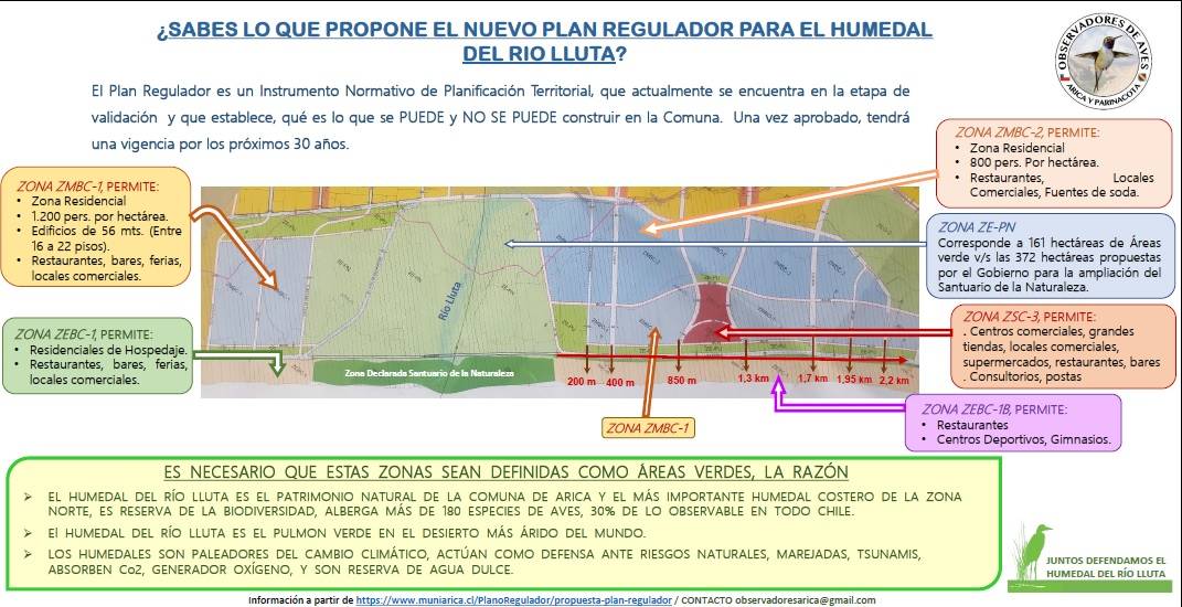 Plan Regulador y Humedal
