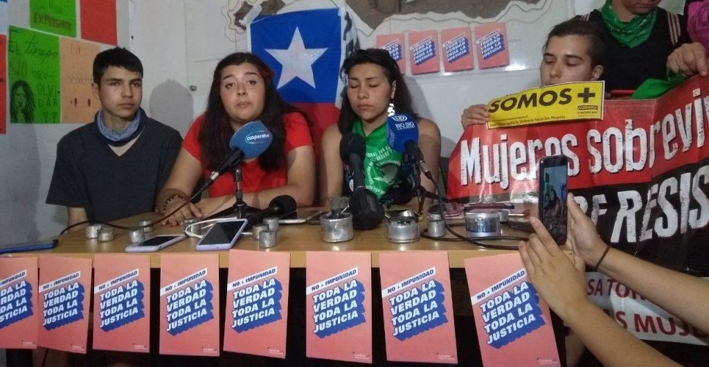 Punto de Prensa Cones: De Izquierda a Derecha: Victor Chanfreau, XX y Valentina Miranda