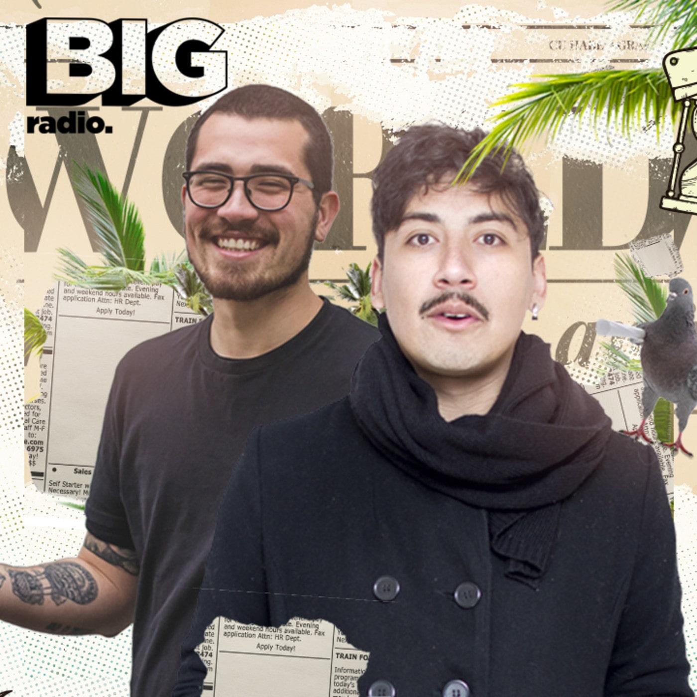 """Afiche promocional del ex-programa de BigRadio, """"Maldito Día""""."""