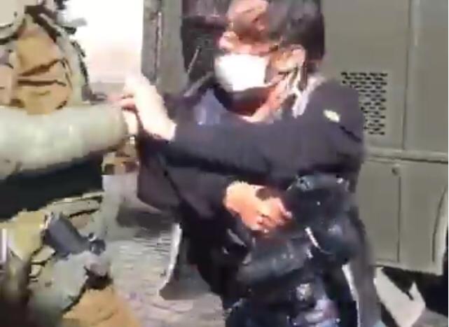 Detención del presidente Colegio Periodistas Valparaíso, Danilo Ahumada